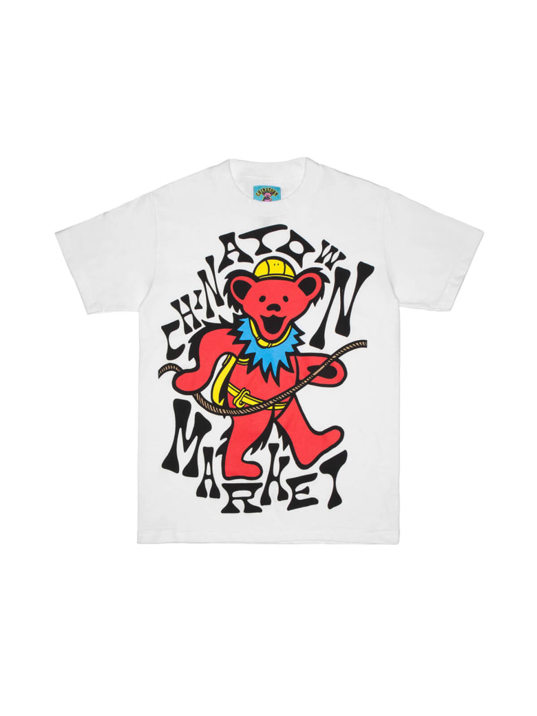 Chinatown Market Gd New Grasp On Death T-shirt - White