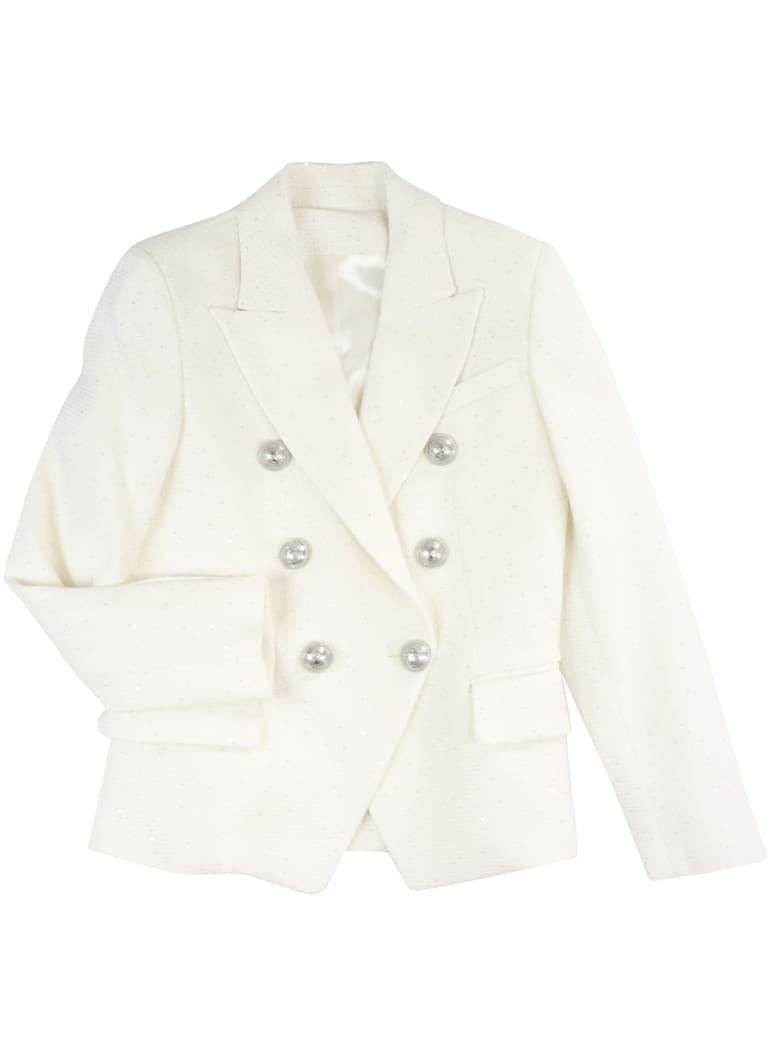 Balmain Jacket Jacket - WHITE