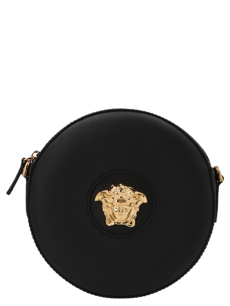 Versace 'la Medusa' Bag - Black
