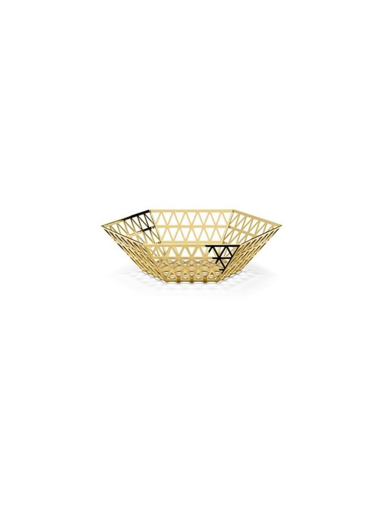 Ghidini 1961 Tip Top - Center Bowl Polished Gold - Polished gold