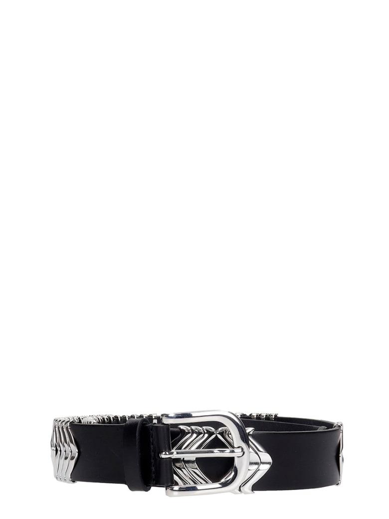 Isabel Marant Tehora Belts In Black Leather - black