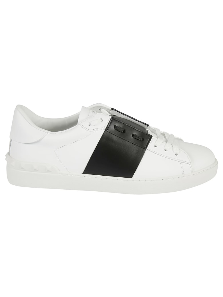 Valentino Garavani Classic Low-top Sneakers - White/Black/White