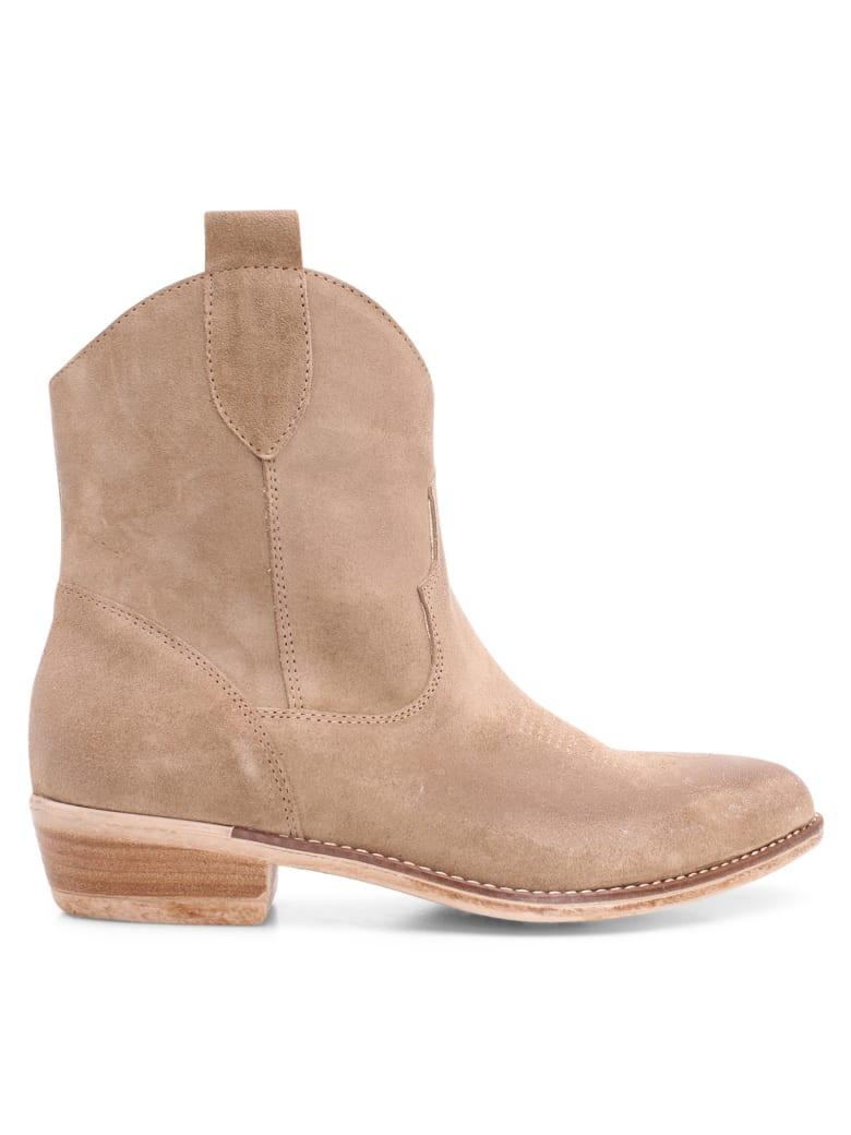 Islo 'nexus' Leather Boots - Oliva