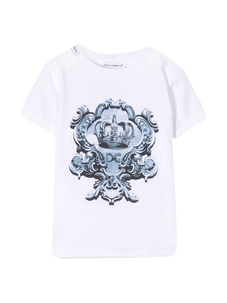 Dolce & Gabbana White T-shirt - Bianco