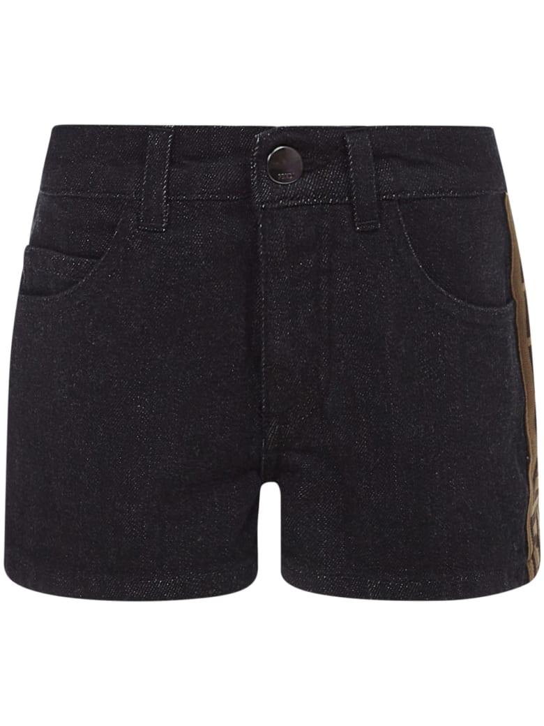 Fendi Kids Shorts - Black