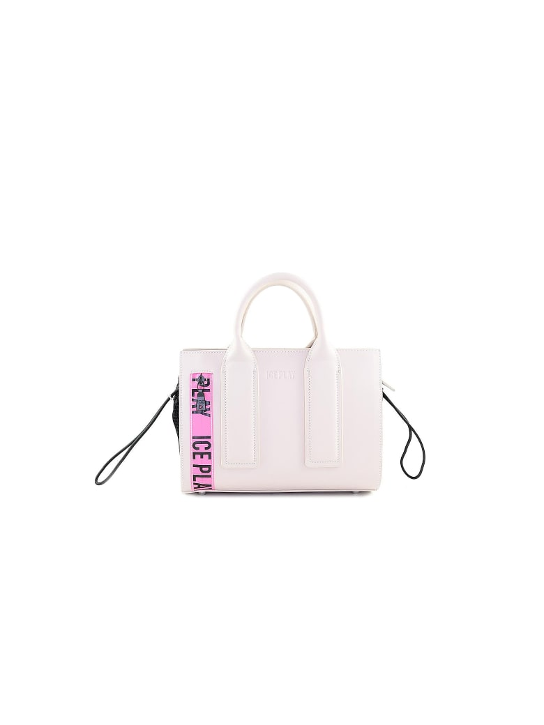 Ice Iceberg Ice Play Top-handles Small Tote - Pink