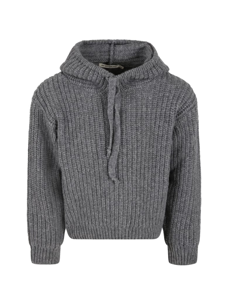 The New Society Grey ''lenny'' Sweater For Kids - Grey