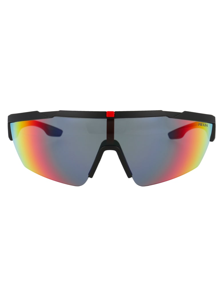 Prada 0ps 03xs Sunglasses - DG008F BLACK RUBBER