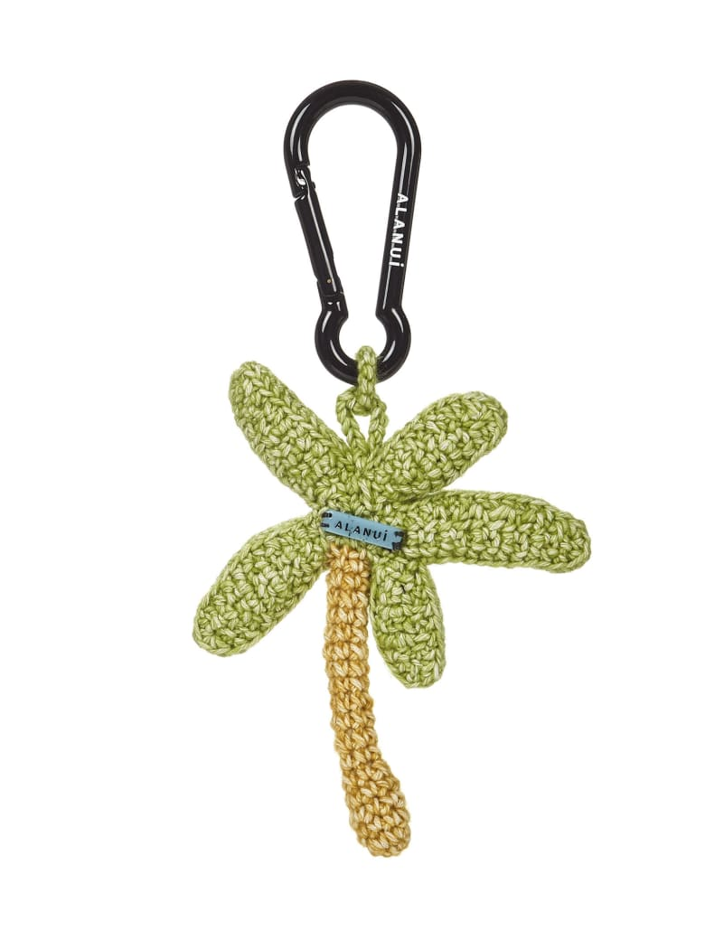 Alanui Key Ring - Green