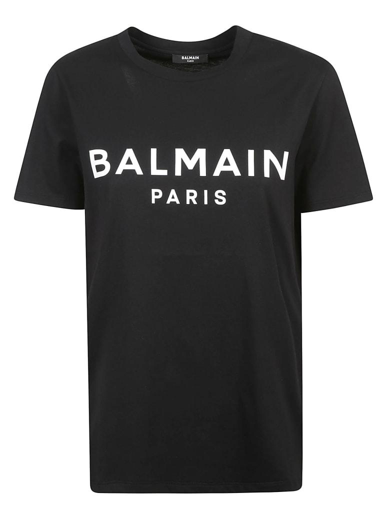 Balmain Classic Logo T-shirt - Black/White