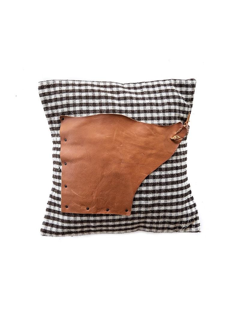 Le Botteghe su Gologone Cushions Shepherd 40x40 Cm - Black Fantasy