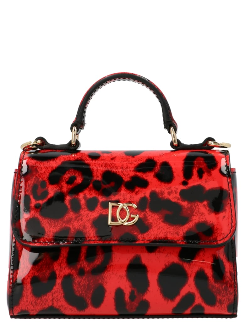 Dolce & Gabbana 'sicily' Mini Bag - Red