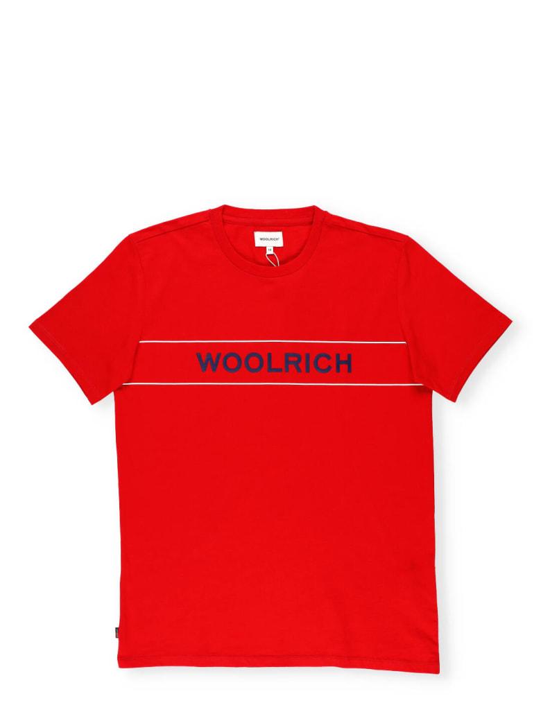 Woolrich Luxe Logo T-shirt - RED