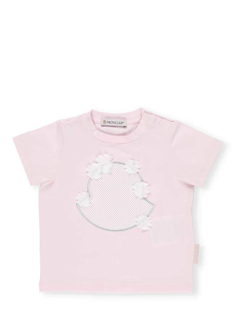 Moncler Cotton T-shirt - Pink