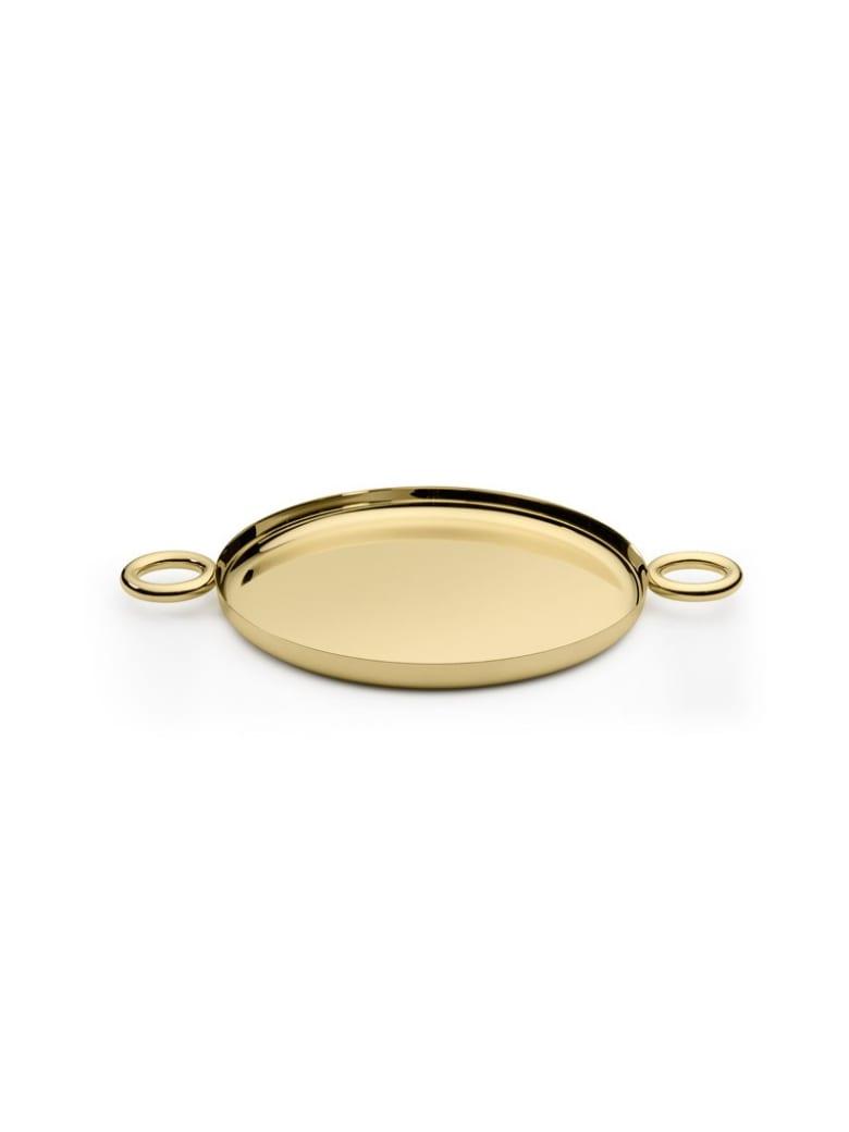 Ghidini 1961 Double O Tray Polished Brass - Polished brass