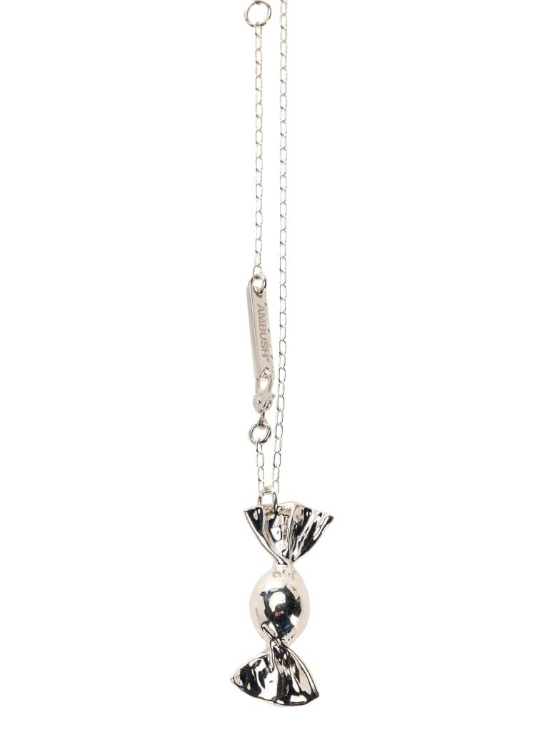 AMBUSH Candy Charm 2 Necklace - SILVER