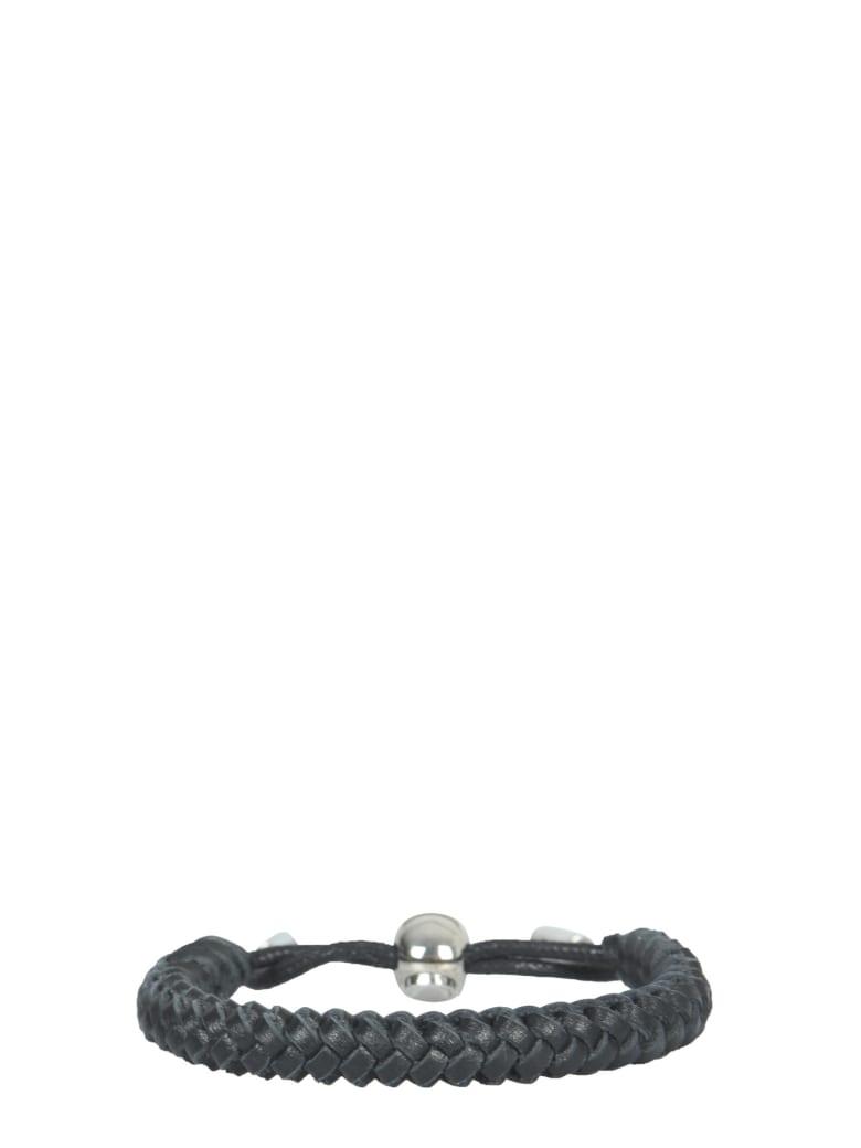 Alexander McQueen Leather Bracelet - NERO
