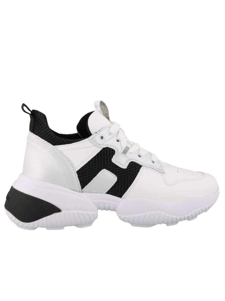Hogan Interaction Laced Shoes - Bianco e Nero