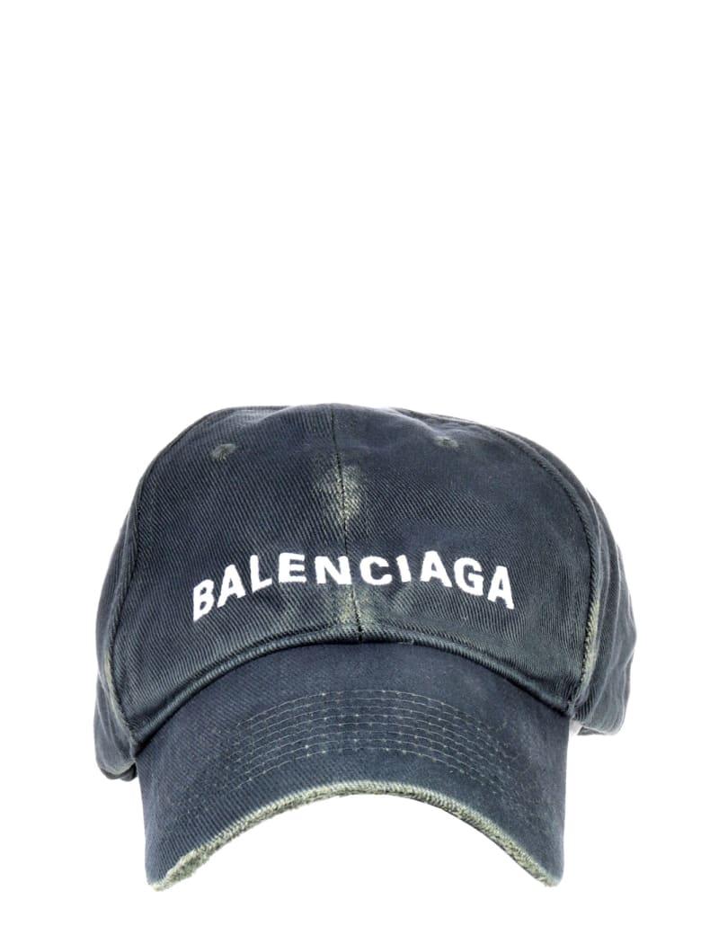 Balenciaga Green Classic Cap - Verde