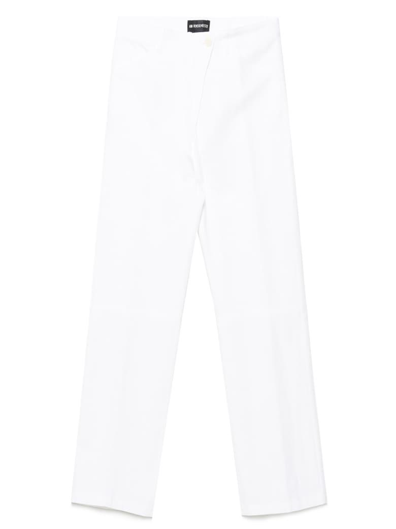 Ann Demeulemeester Pants - White
