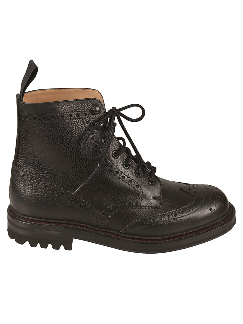 Church's Mc Farlane Lace-up Boots - Black