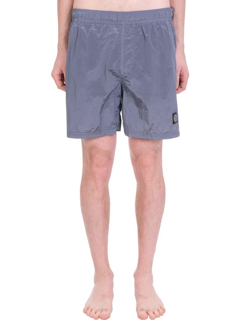 Stone Island Beachwear In Grey Polyester - grey
