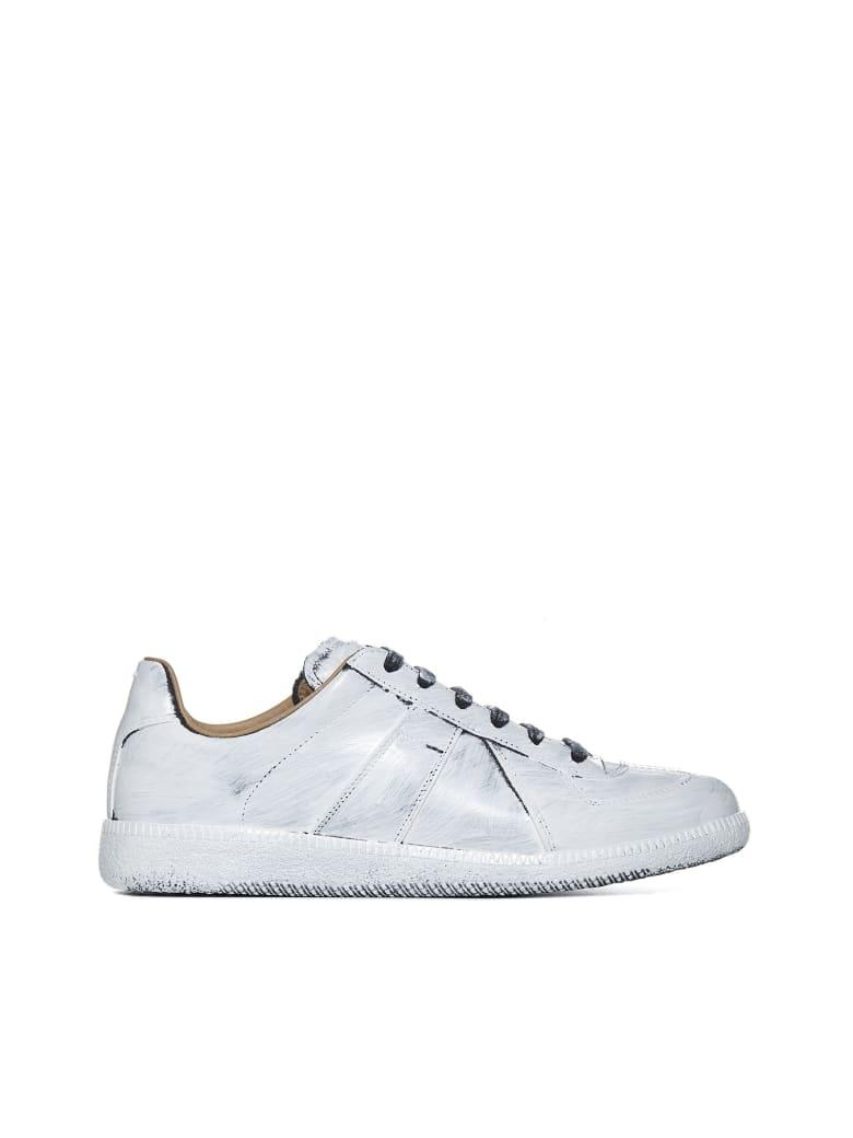 Maison Margiela Sneakers - Black glossy white