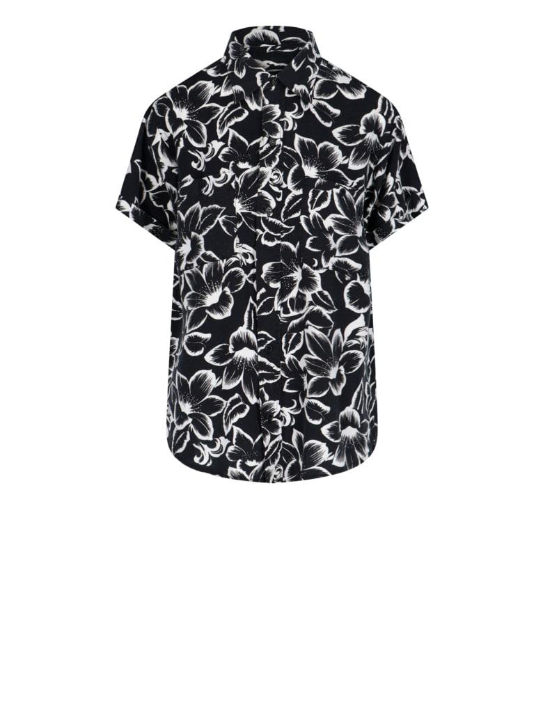 Saint Laurent Shirt - Floral Black White