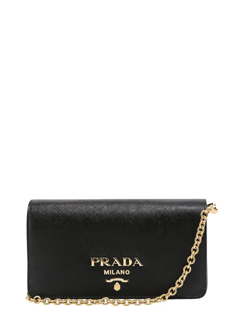 Prada Shoulder Bag - Black
