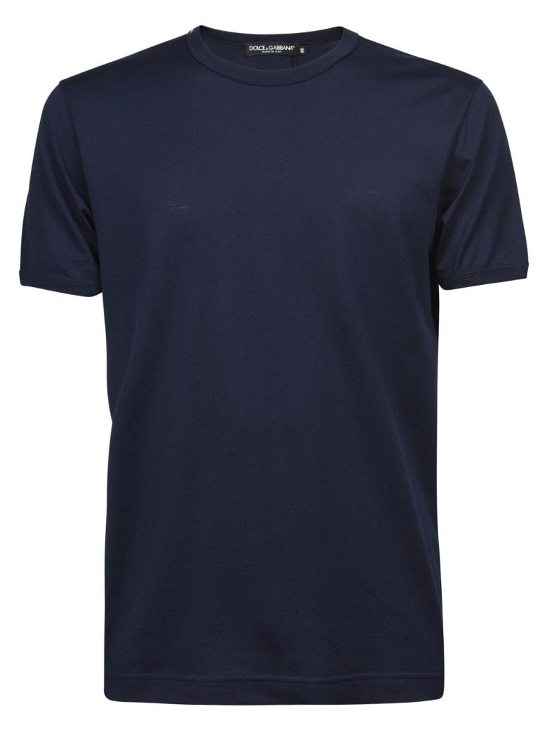 Dolce & Gabbana Round Neck T-shirt - Bluscuro