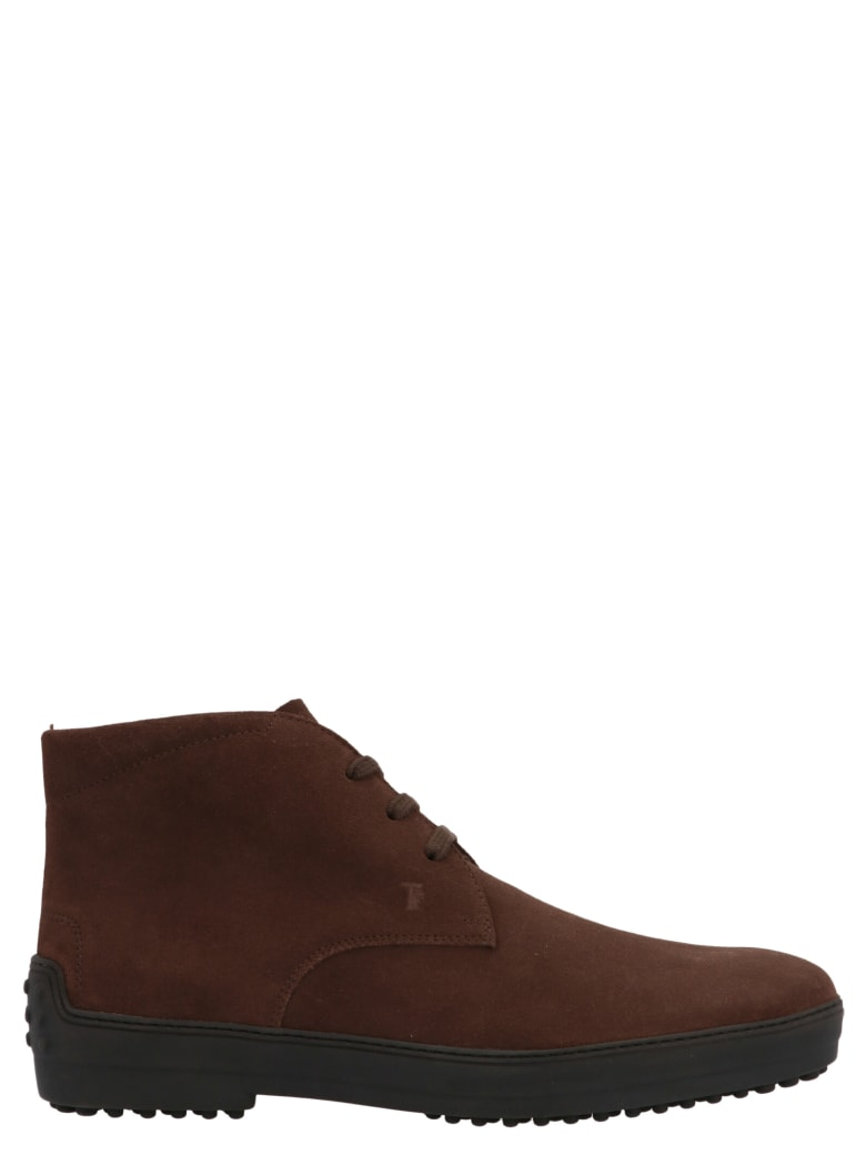 Tod's 'winter Gommini' Shoes - Brown
