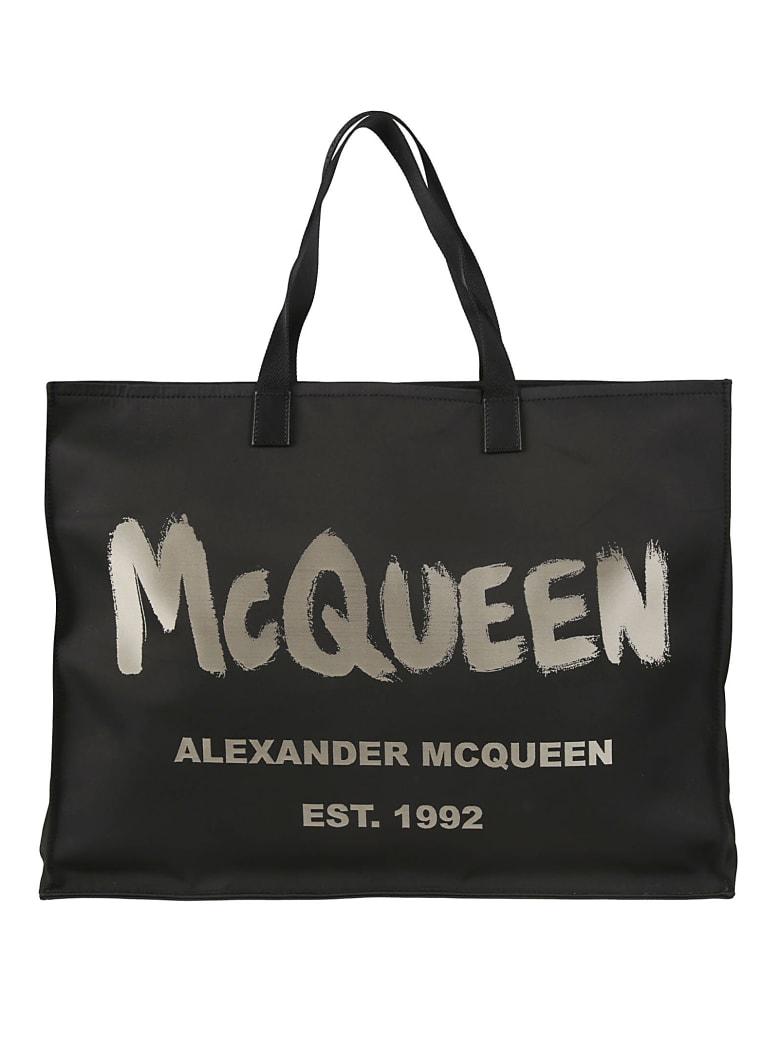Alexander McQueen City Tote - Black/Ivory