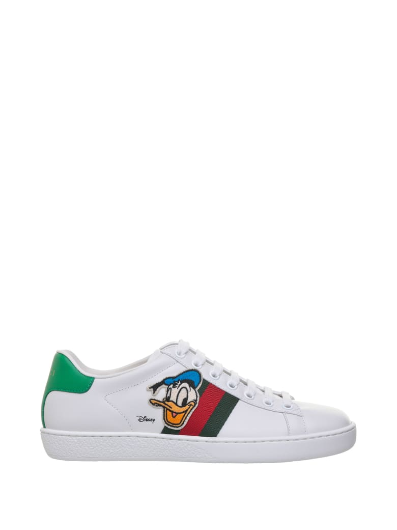 Gucci Acewith With Donald Duck - Bianco multicolor