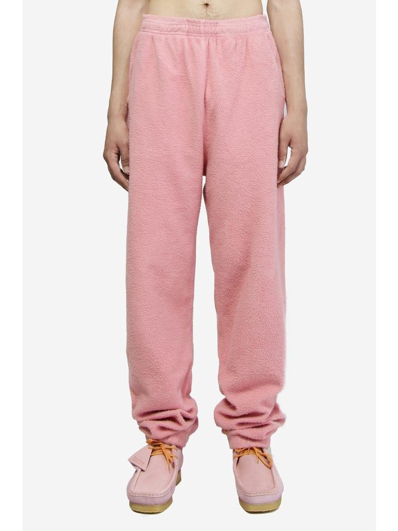 Brain Dead Reverse Fleece Pants - rose-pink