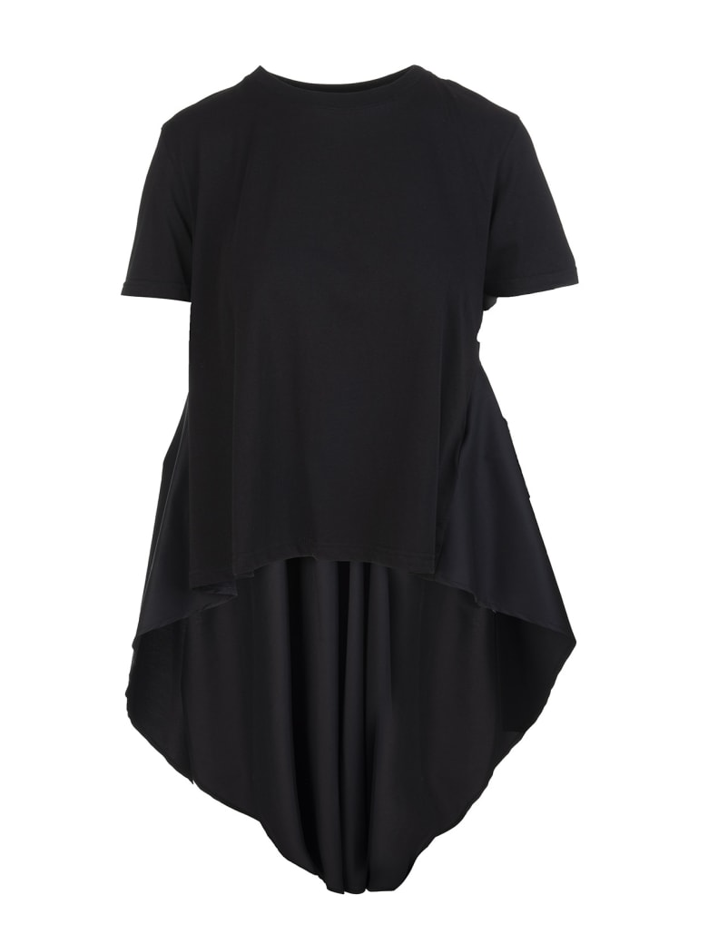 "RED Valentino Black ""the Black Tag"" Woman T-shirt - Nero"