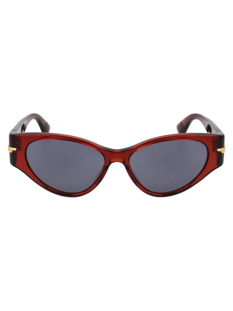 Bottega Veneta Bv1001s Sunglasses - 003 BROWN BROWN BROWN