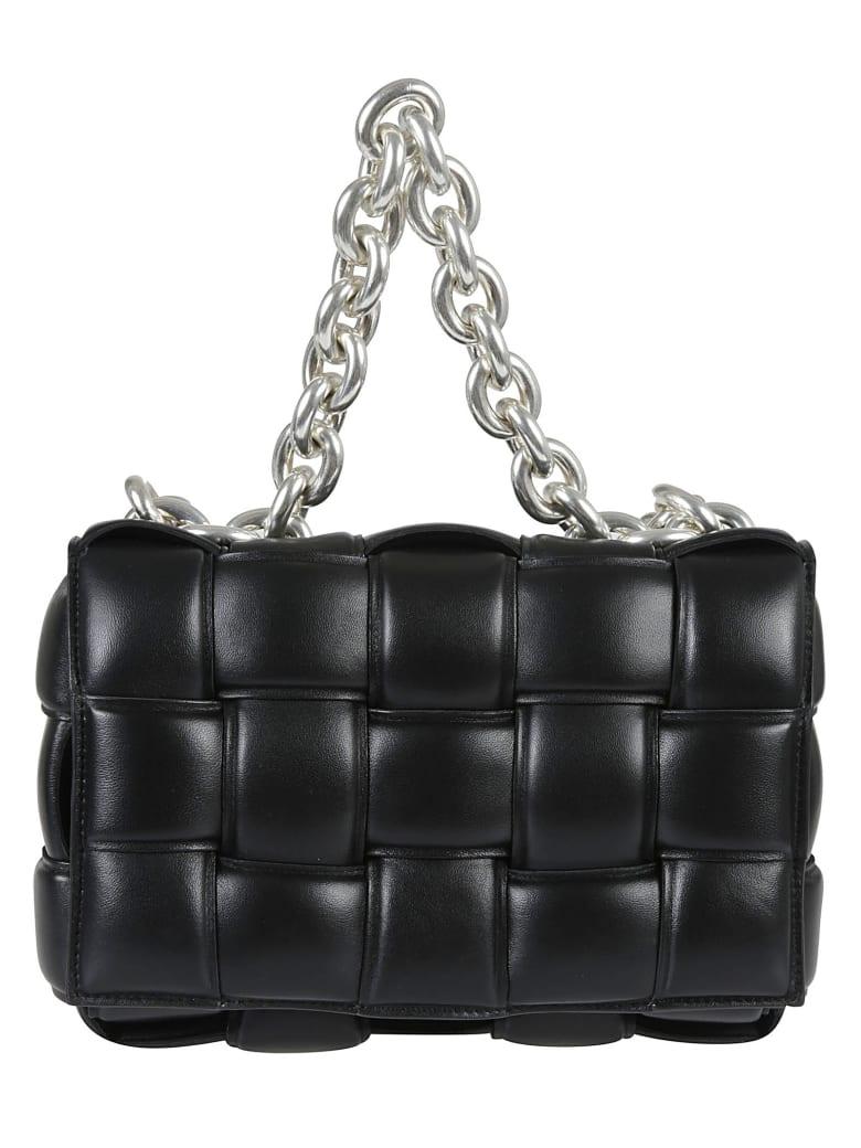 Bottega Veneta The Chain Cassette Shoulder Bag - Black/Silver
