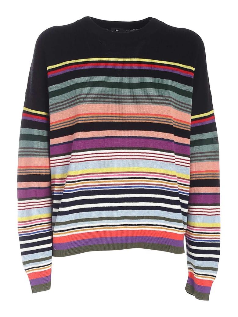 Paul Smith Striped Sweater - Black