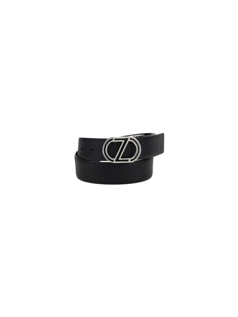 Z Zegna Belt - Black