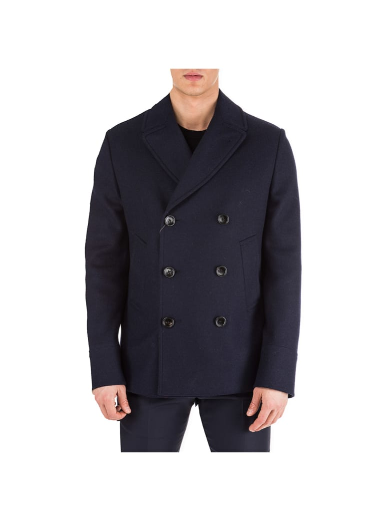 Gucci Italian Design Coats - Blu