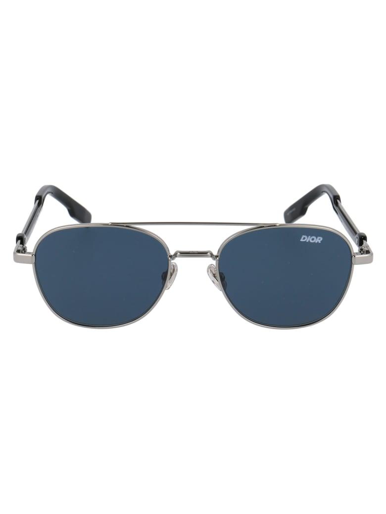 Dior street2 Sunglasses - 6LBA9 RUTHENIUM