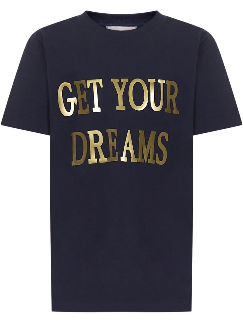 Alberta Ferretti Junior T-shirt - Dark blue