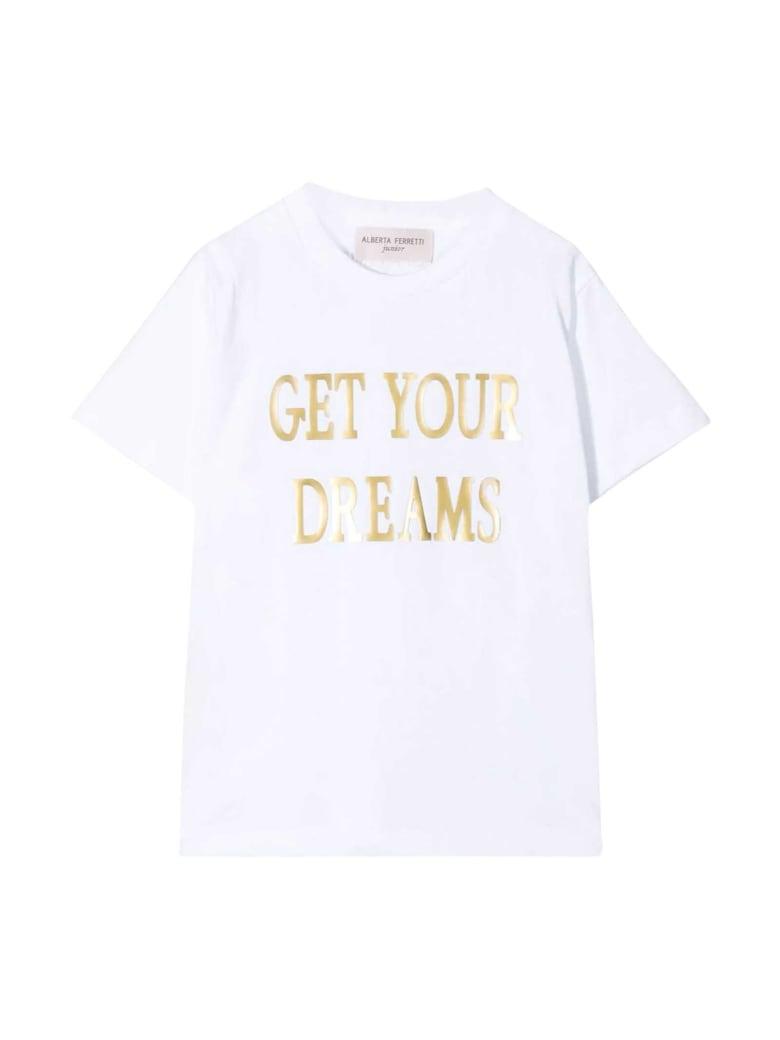 Alberta Ferretti Teen White T-shirt - Bianco