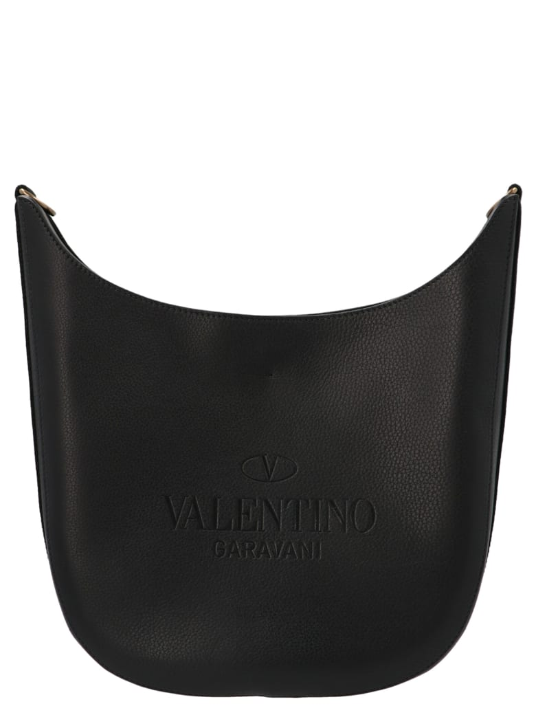 Valentino Garavani 'medium Hobo' Bag - Black