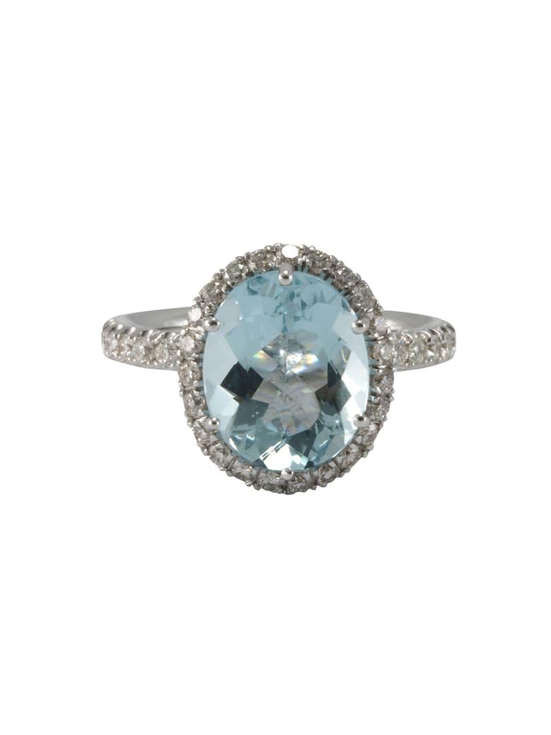 Lo Spazio Jewelry Lo Spazio Aqua Lucente Ring(V) - Sky_Blue