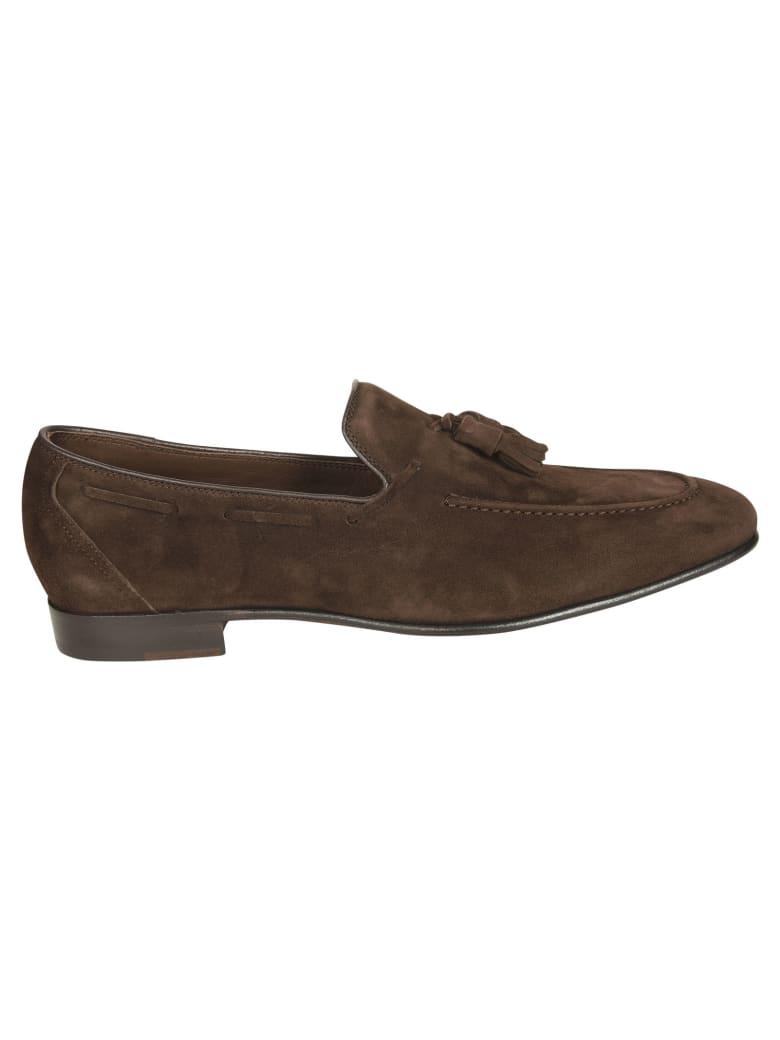Eddy Monetti Tassel Detail Loafers - Brown
