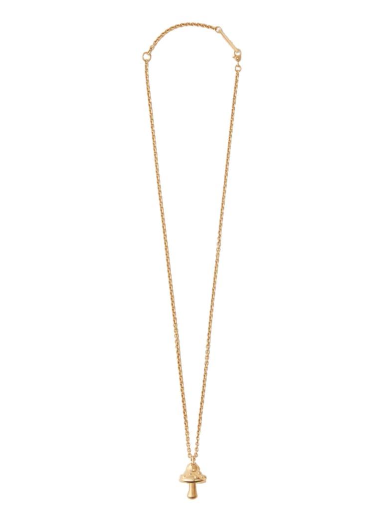 AMBUSH Mushroom Charm Necklace - Oro