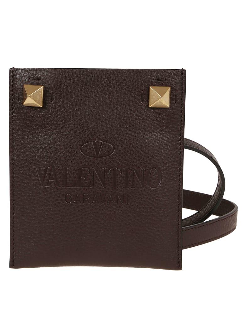 Valentino Garavani Flat Phone Case - Marrone