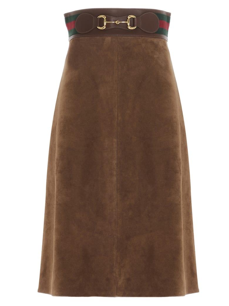 Gucci Skirt - Marrone