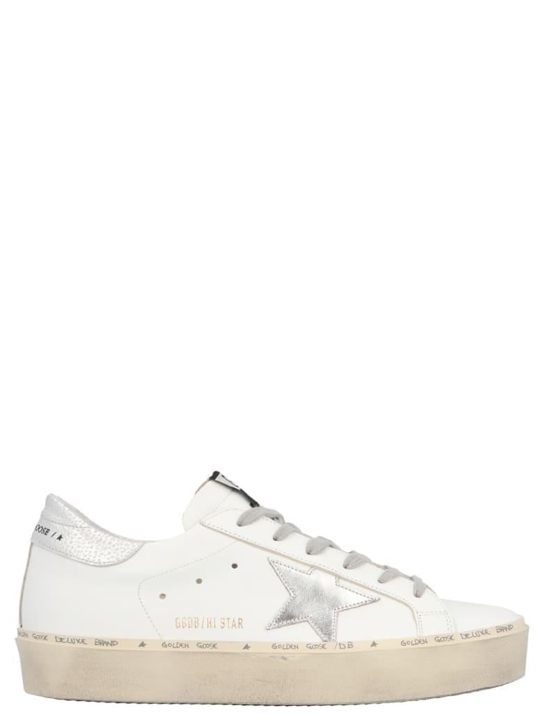 Golden Goose 'hi-star' Shoes - White